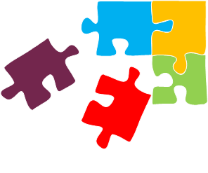 Puzzle pieces showing missing literacy skills